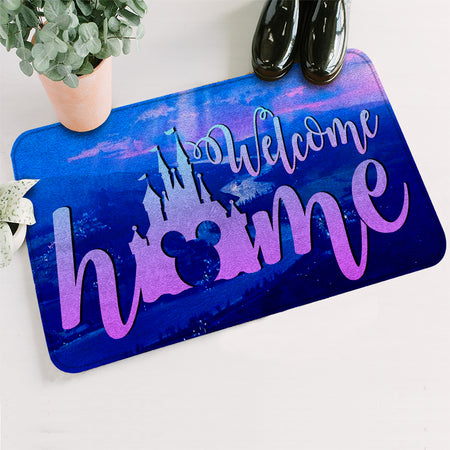 Welcome Home DN Mouse Doormat