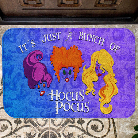 It's Just A Bunch Of H Pocus Christmas Doormat
