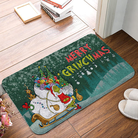 TG Merry Grinchmas Christmas Doormat