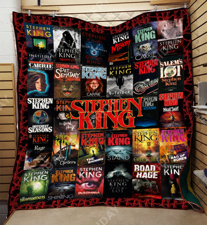 Stephen K Horror Novels Quilt