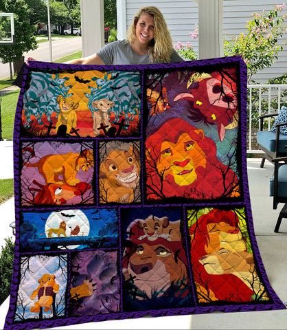 Image of Simba Halloween Quilt