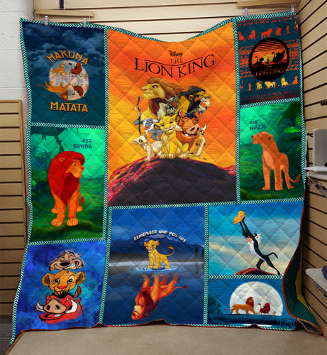 Remember Who You Are Lion Quilt
