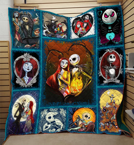 Nightmare Before Christmas Quilt  Jack and Sally Quilt