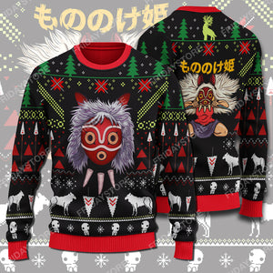 GB Princess Wolf Christmas Sweater