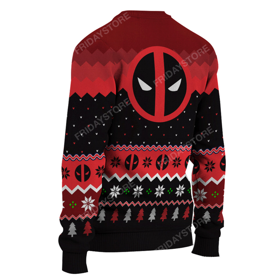 DP Merry Chimichanga Funny Christmas Sweater