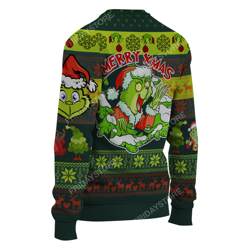 TG Greetings Merry X-mas Funny Christmas Sweater