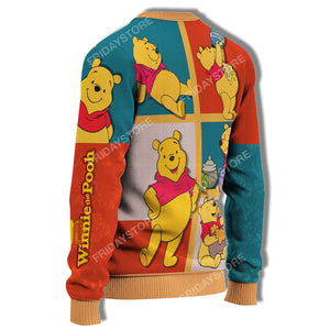 WTP Emotions Of Pooh Honey Sweater