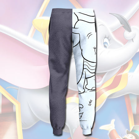 DN DUMBO ADORABLE BIG EARS ELEPHANT Pants - JOGGER