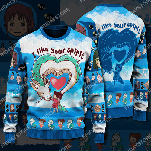 GB I Like Your Spirit Christmas Sweater