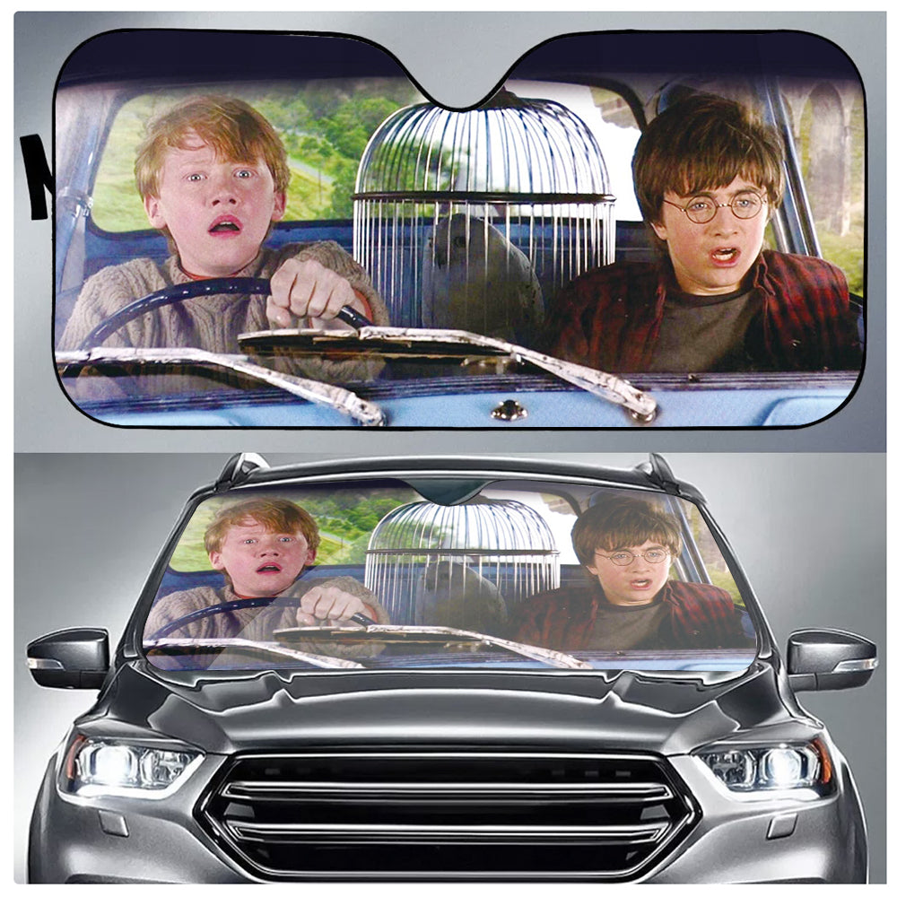 Harry & Ron Car Sun Shade