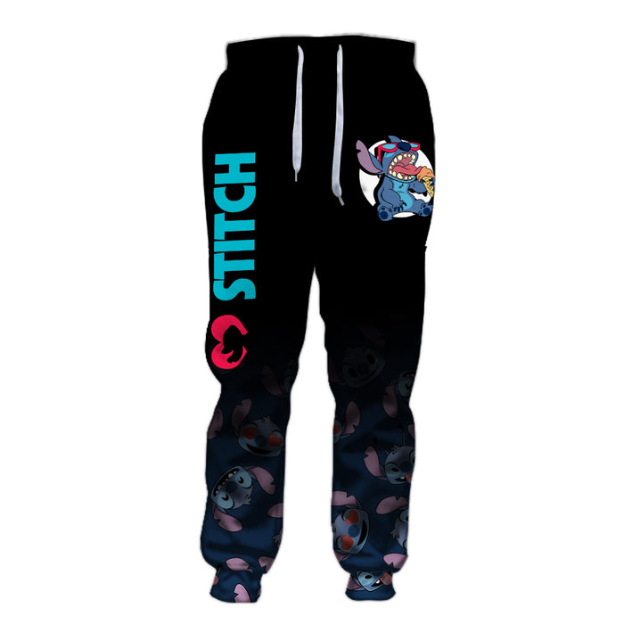 Stitch Emotion Pants - Jogger 6XL Black