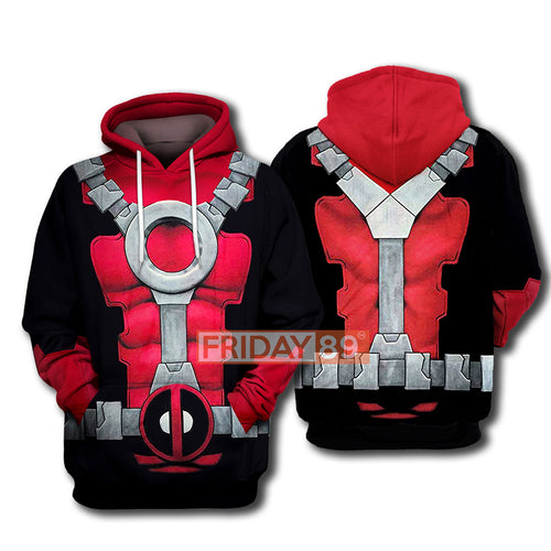 MV DP Dead Cosplay Costume All Over Print Hoodie T-shirt