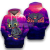 HTTYD Adorable Toothless Dragon Night Fury All Over Print Hoodie T-shirt