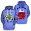 Peanuts Christmas Time Is Here Just Chillin' Hoodie