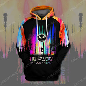 TNBC Hello Darkness My Old Friend All Over Print Hoodie T-shirt