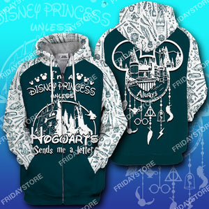 I'm A DN Princess Unless HW Send Me A Letter All Over Print Hoodie T-shirt