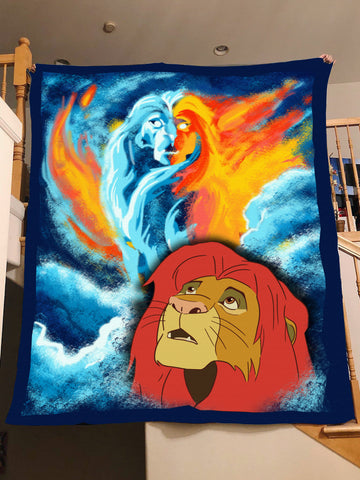Remember Who you are - Lion Blanket
