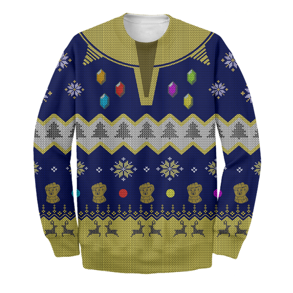 Thanos Ugly Sweater Printing
