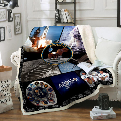 50th Anniversary Apollo 11 Blanket