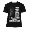 Wolverine-Pain Is Your Friend 3D Print Shirt