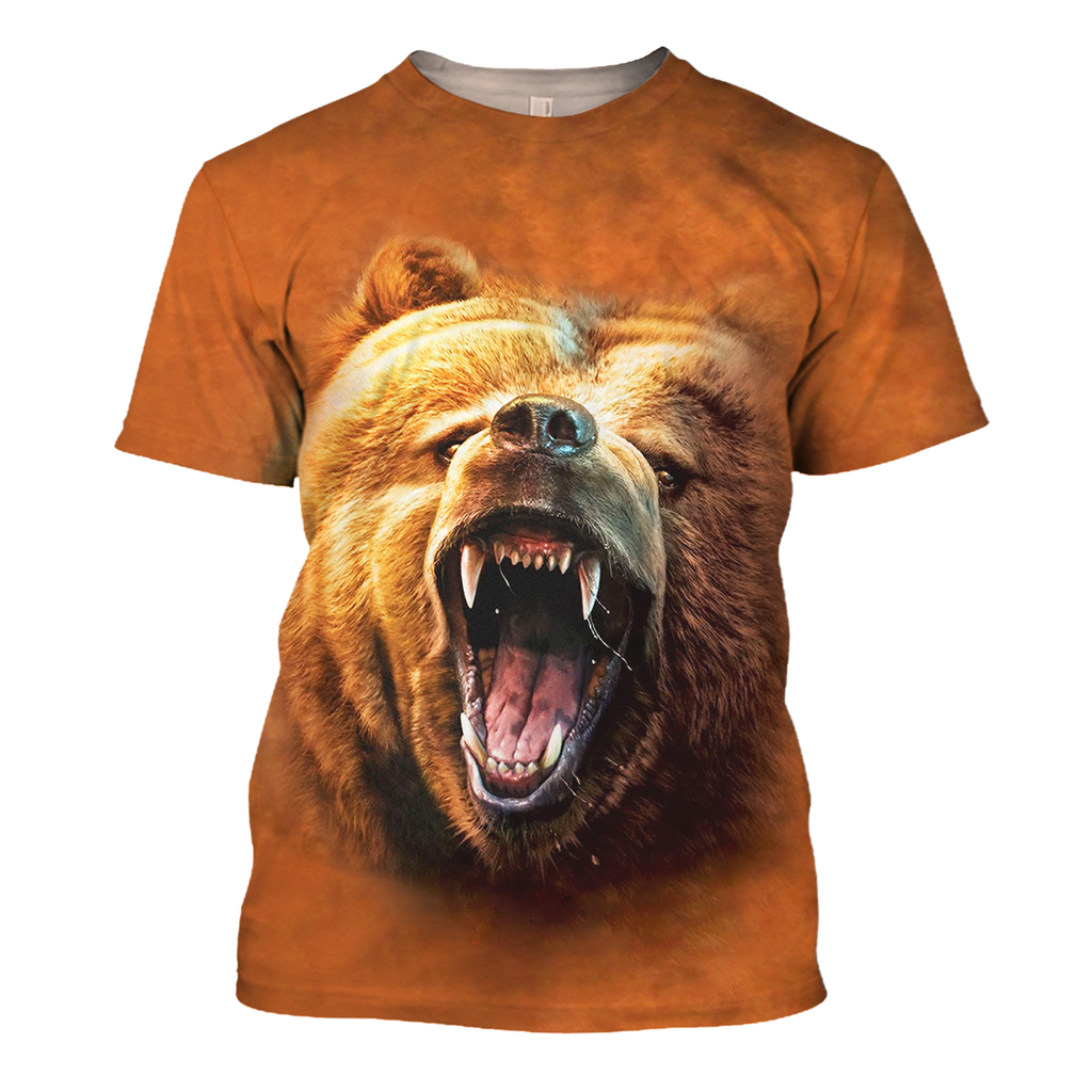 Loving The Bear 3D Print Shirt