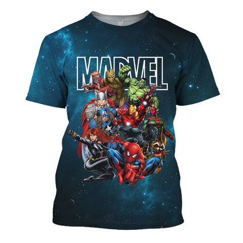 Image of Marvel Avengers Guardians of The Galaxy Team 3D Print Shirt