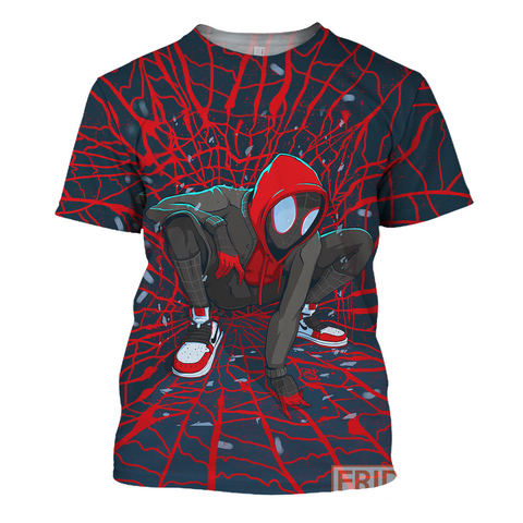 Image of Spider Verse 3D Print Shirt