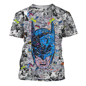 Batman Robin 3D Print Shirt