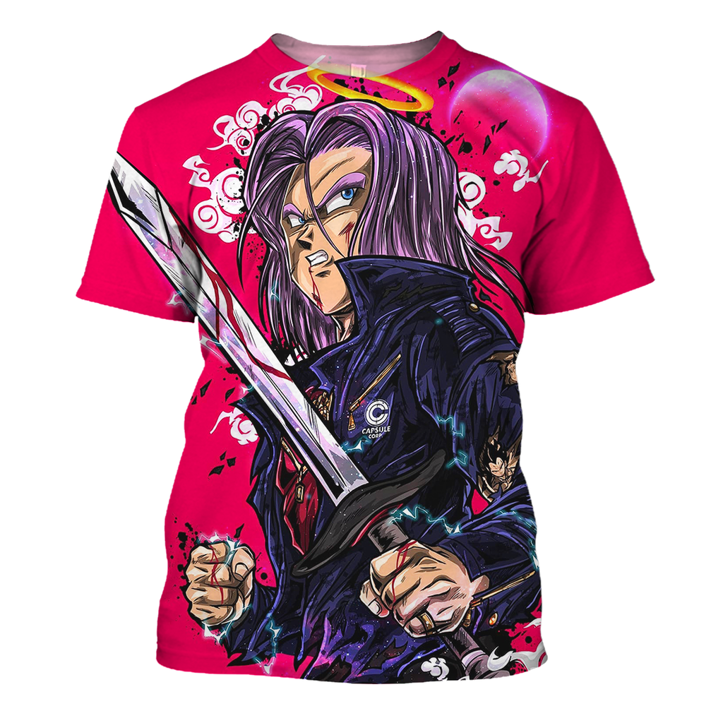 Dragon Ball Shirt - Trunks Bloody Sword