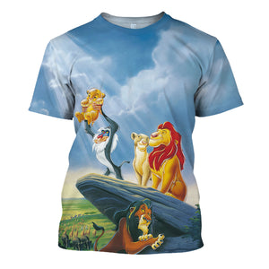 The Lion King 3D Print Shirt
