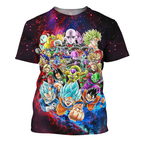 Image of Dragon Ball Galaxy Shirt