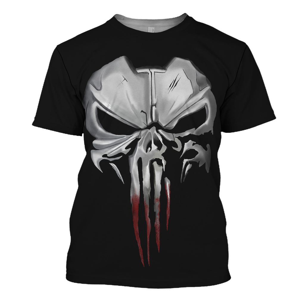 The Punisher 3D Print Shirt