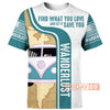 Camping Vans Wanderlust -Let What You Love Save You All Over Print Hoodie