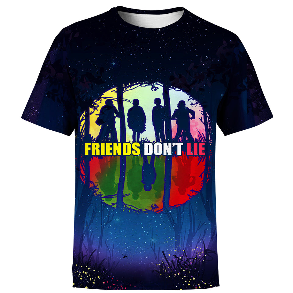 3D Print Friends Don't Lie Hoodie