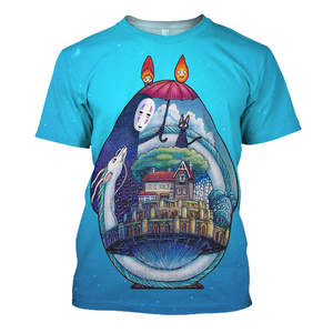 Spirited Away 3D Print Shirt