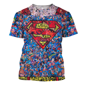 Super M Pattern All Over Print Shirt