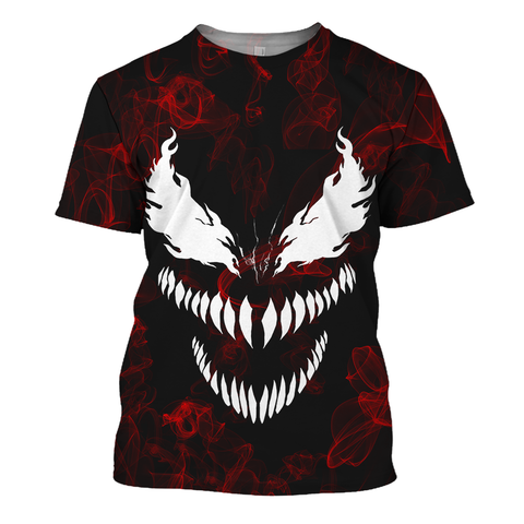 Image of The Red Venom 3D Print Shirt