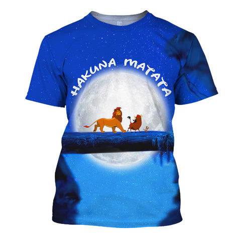 Image of It means no worries - hakuna matata