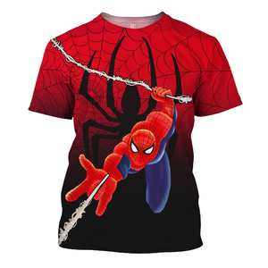 Cool Spider Man 3D Print Shirt