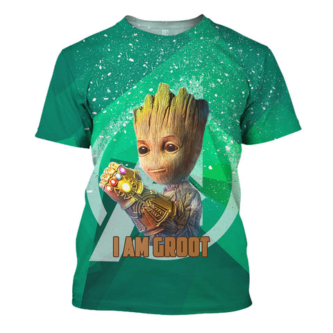Image of I Am Groot 3D Print Shirt