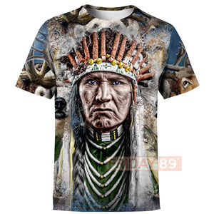 Native American - The Nez Perce Tribe  All Over Print Hoodie