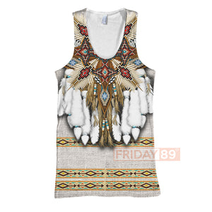 All Over Print Native American Culture Costume Pattern Hoodie