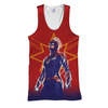 Captain Marvel 3D Print Shirt
