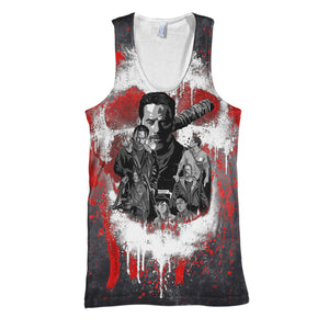 The Walking Dead 3D Print Shirt