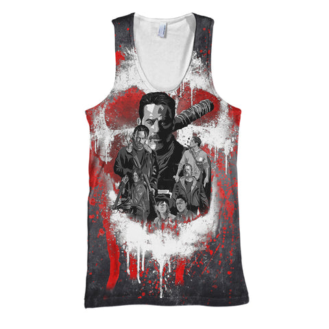 Image of The Walking Dead 3D Print Shirt