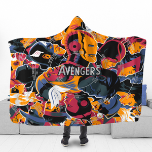 TA Characters Hooded Blanket