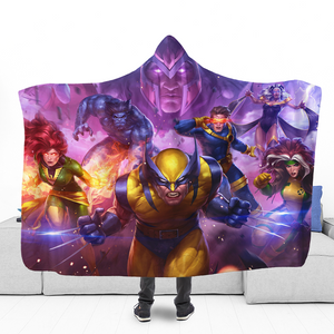 X-M Squad Hooded Blanket