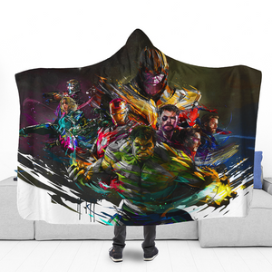 IW Colorful Hooded Blanket