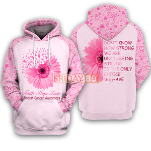 Faith Hope Love Breast Cancer Awareness