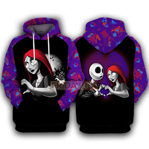 Sally - Nightmare Matching Couple Hoodie